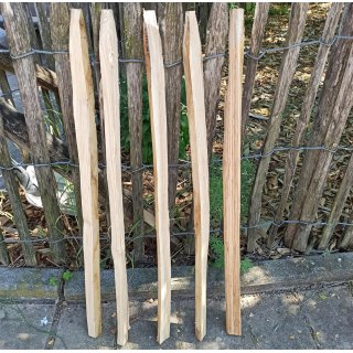 Staketenzäune aus Kastanie