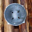 Pfostenschuh rund anschraubbar für 80mm Rundholz