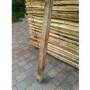 Vierkantpfosten Kastanie 200cm 8x8