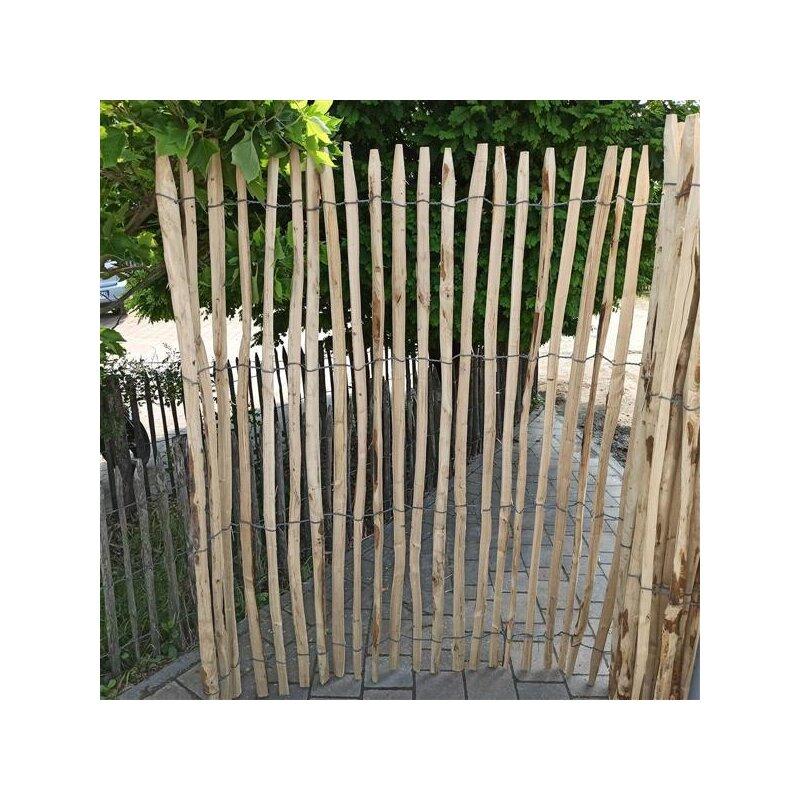 proline staketenzaun kastanie 175 cm hoch 5 m lattabstand ca 4 6cm 120 00. Black Bedroom Furniture Sets. Home Design Ideas