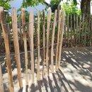 Proline Staketenzaun Kastanie 80 cm hoch, 10m-Rolle, Lattabstand ca 4-6cm