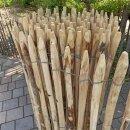 Proline Staketenzaun Kastanie 120 cm hoch, 10m-Rolle, Lattabstand ca 4-6cm