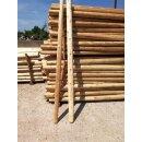 Zaunpfahl Northern White Cedar Höhe 120 cm rund zu Zaun Höhe 60-80 cm Durchmesser ca 7-9cm mit Spitze