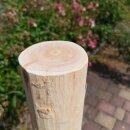 Rundholz Northern White Cedar Höhe 175 cm Durchmesser ca 8cm