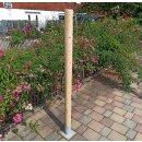 Rundholz Northern White Cedar Höhe 150 cm Durchmesser ca 8cm