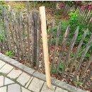 Querriegel 120cm aus Northern White Cedar, halbiertes Rundholz, ungeschliffen, roh