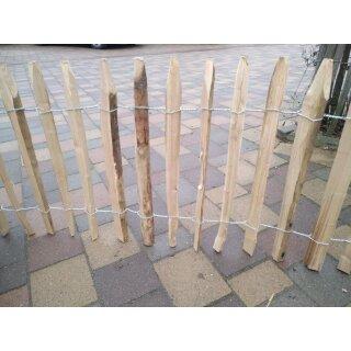 Proline Staketenzaun Kastanie 60 cm hoch, 10m-Rolle, Lattabstand ca 4-6cm