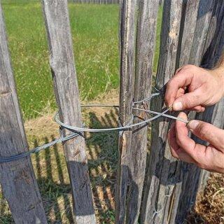 Draht zur Zaunmontage 20 Stck zu je 30cm