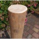 Rundholz Northern White Cedar Höhe 100 cm Durchmesser ca 8cm