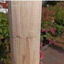 Rundholz Northern White Cedar Höhe 120 cm Durchmesser ca 8cm