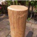 Rundholz Northern White Cedar Höhe 50 cm Durchmesser ca 8cm