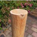 Rundholz Northern White Cedar Höhe 80 cm Durchmesser ca 8cm