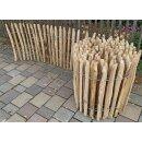 Proline Staketenzaun Kastanie 60 cm hoch, 10m-Rolle, Lattabstand ca 2-4cm