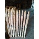 Proline Staketenzaun Kastanie 150 cm hoch, Schnittware 1-4m, Lattabstand ca 2-4cm
