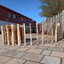 Proline Staketenzaun Kastanie 40 cm hoch, 10m-Rolle,...