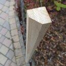 Fünfkant-Zaunpfahl Kastanie Höhe 150 cm zu Zaun Höhe 100 cm Umfang 16 cm mit Spitze