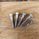 Schrauben Sechskant verzinkt z.B. 10x50 passend für...