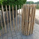 Proline Staketenzaun Kastanie 120 cm hoch, 10m-Rolle,...