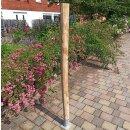 Rundholz Kastanie Höhe 175 cm Durchmesser ca 8cm